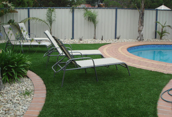 Poolside Turf Replacement